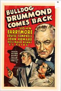Bulldog Drummond Comes Back - 27 x 40 Movie Poster - Style A