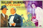 Bulldog Drummond Escapes - 11 x 17 Movie Poster - French Style A