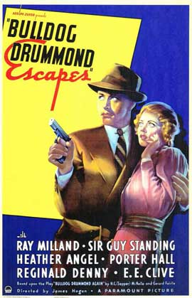 Bulldog Drummond Escapes - 11 x 17 Movie Poster - Style A