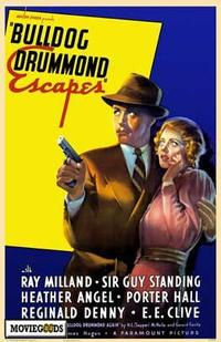Bulldog Drummond Escapes - 27 x 40 Movie Poster - Style A