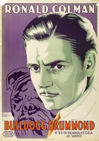 Bulldog Drummond - 27 x 40 Movie Poster - Swedish Style A