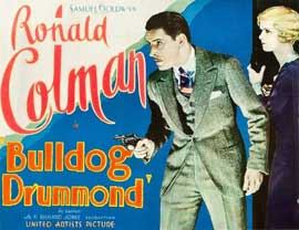 Bulldog Drummond - 22 x 28 Movie Poster - Half Sheet Style A