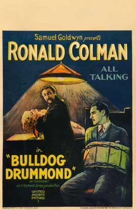 Bulldog Drummond - 27 x 40 Movie Poster - Style B