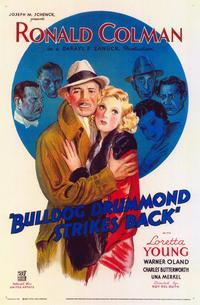 Bulldog Drummond Strikes Back - 11 x 17 Movie Poster - Style A