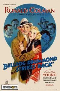 Bulldog Drummond Strikes Back - 27 x 40 Movie Poster - Style A