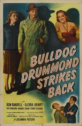 Bulldog Drummond Strikes Back - 11 x 17 Movie Poster - Style B