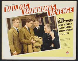 Bulldog Drummond's Revenge - 22 x 28 Movie Poster - Half Sheet Style A