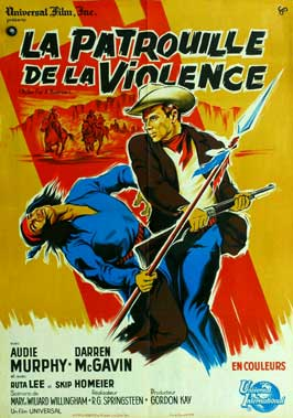 Bullet for a Badman - 27 x 40 Movie Poster - French Style A