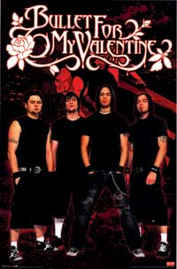 Bullet for My Valentine - Music Poster - 22 x 34 - Style A