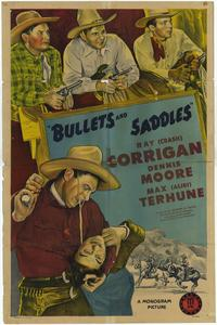 Bullets and Saddles - 11 x 17 Movie Poster - Style A