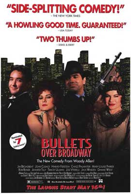Bullets over Broadway - 11 x 17 Movie Poster - Style B