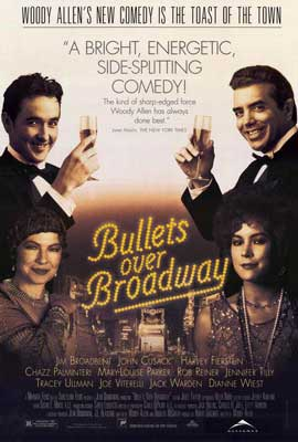Bullets over Broadway - 27 x 40 Movie Poster - Style A