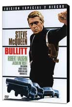Bullitt - 11 x 17 Movie Poster - Spanish Style B - Museum Wrapped Canvas
