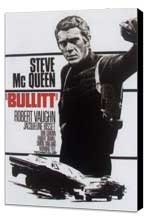 Bullitt - 11 x 17 Movie Poster - German Style B - Museum Wrapped Canvas