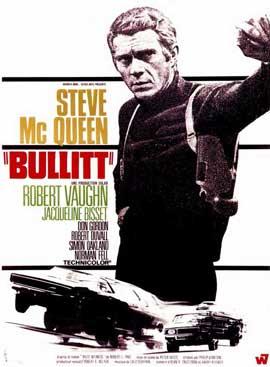 Bullitt - 11 x 17 Movie Poster - French Style B