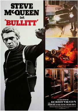 Bullitt - 11 x 17 Movie Poster - Style C