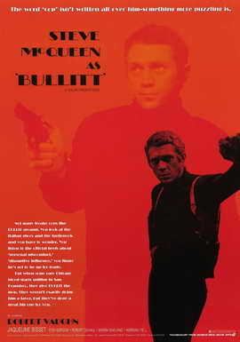 Bullitt - 11 x 17 Movie Poster - Style E