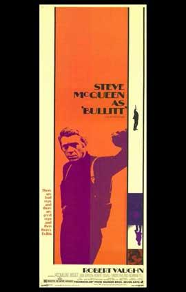 Bullitt - 11 x 17 Movie Poster - Style F