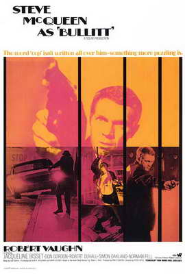 Bullitt - 27 x 40 Movie Poster - Style A