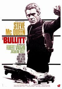 Bullitt - 43 x 62 Movie Poster - Bus Shelter Style B