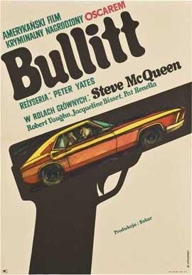 Bullitt - 11 x 17 Movie Poster - Polish Style A
