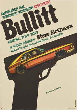 Bullitt - 27 x 40 Movie Poster - Polish Style A