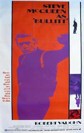 Bullitt - 11 x 17 Movie Poster - Style G
