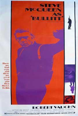 Bullitt - 27 x 40 Movie Poster - Style B