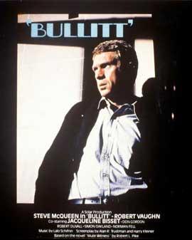 Bullitt - 11 x 17 Movie Poster - Style H
