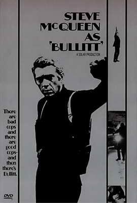 Bullitt - 27 x 40 Movie Poster - Style D