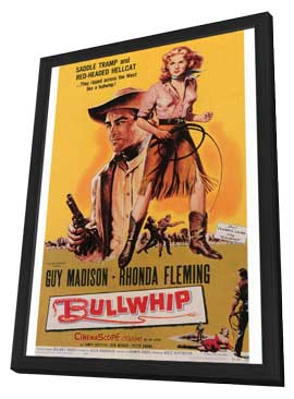 Bullwhip - 27 x 40 Movie Poster - Style A - in Deluxe Wood Frame