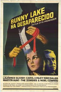 Bunny Lake is Missing - 11 x 17 Movie Poster - Spanish Style A
