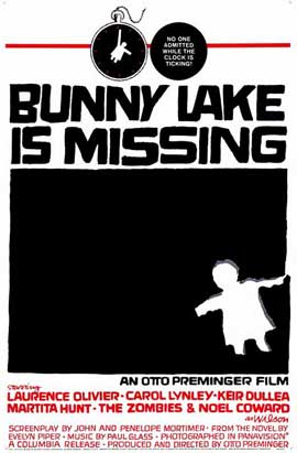 Bunny Lake is Missing - 11 x 17 Movie Poster - Style B