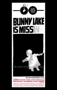 Bunny Lake is Missing - 43 x 62 Movie Poster - Bus Shelter Style A