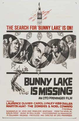 Bunny Lake is Missing - 27 x 40 Movie Poster - Style B