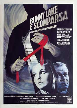 Bunny Lake is Missing - 11 x 17 Movie Poster - Italian Style A