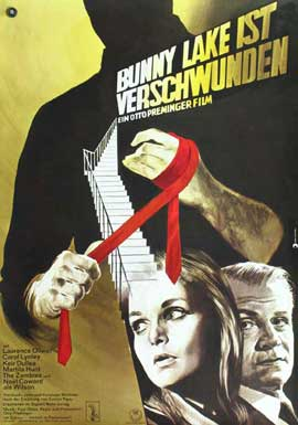 Bunny Lake is Missing - 27 x 40 Movie Poster - German Style A