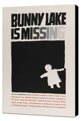 Bunny Lake is Missing - 27 x 40 Movie Poster - Style C - Museum Wrapped Canvas