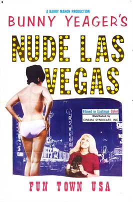 Bunny Yeager's Nude Las Vegas - 11 x 17 Movie Poster - Style A