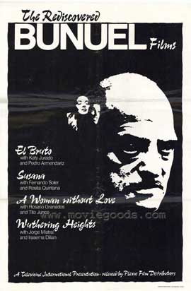 Bunuel Films ( The Rediscovered) - 11 x 17 Movie Poster - Style A