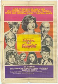 Buona Sera, Mrs. Campbell - 11 x 17 Movie Poster - Spanish Style A
