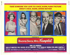 Buona Sera, Mrs. Campbell - 11 x 14 Movie Poster - Style A