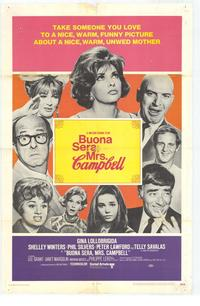 Buona Sera, Mrs. Campbell - 27 x 40 Movie Poster - Style A