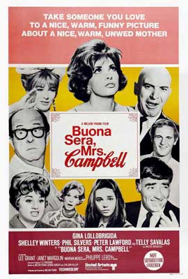Buona Sera, Mrs. Campbell - 27 x 40 Movie Poster - Australian Style A