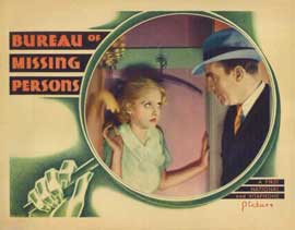 Bureau of Missing Persons - 11 x 14 Movie Poster - Style C