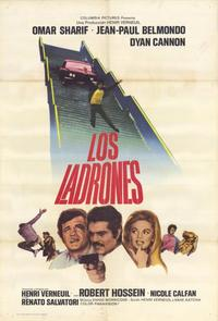 The Burglars - 11 x 17 Movie Poster - Spanish Style A