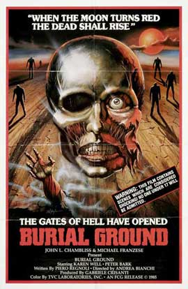 Burial Ground - 27 x 40 Movie Poster - Style A