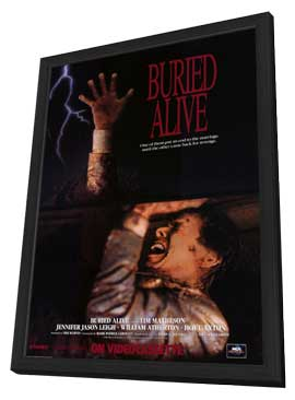 Buried Alive - 11 x 17 Movie Poster - Style A - in Deluxe Wood Frame
