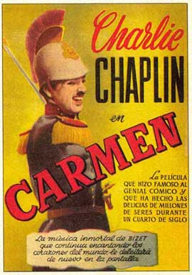 Burlesque on Carmen - 11 x 17 Movie Poster - Spanish Style A