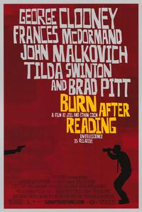 Burn After Reading - 43 x 62 Movie Poster - Bus Shelter Style A